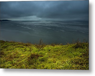 Moody Weather Metal Print by Calazone's Flics