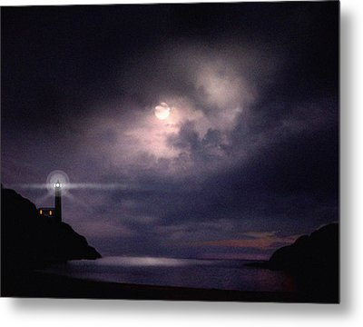 Moon Bay Metal Print by Robert Foster