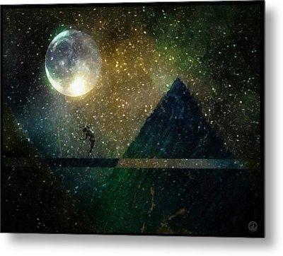 Moon Dance Metal Print by Gun Legler