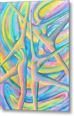 Moon Dance Metal Print