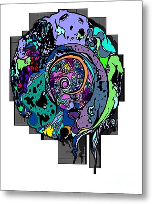 Moon Disguise  Metal Print by Carly Anderson