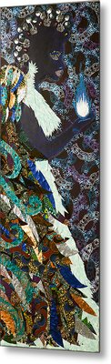 Moon Guardian - The Keeper Of The Universe Metal Print by Apanaki Temitayo M