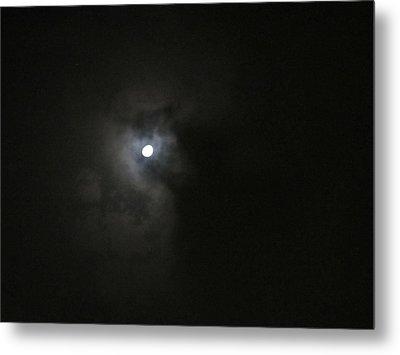 Moon In The Night Metal Print