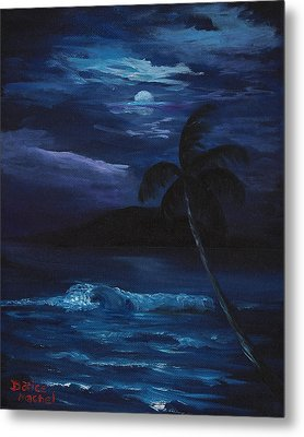 Moon Light Tropics Metal Print by Darice Machel McGuire