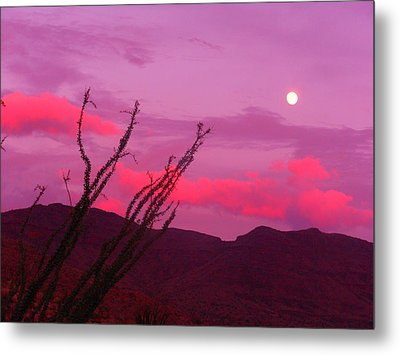 Moon Of The West Metal Print