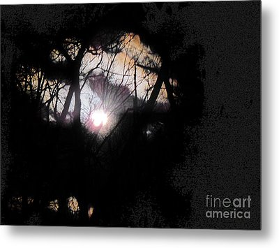Moon Rays Metal Print by Sharon Costa
