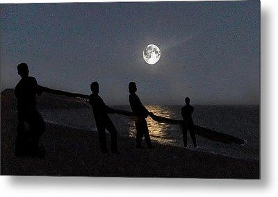 Moon Shadows  Metal Print by Eric Kempson
