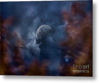 Moon Shine Metal Print by Andrea Kollo