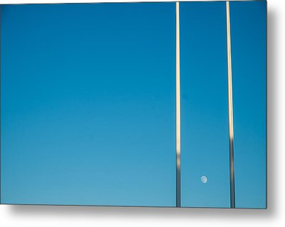 Moon Up Metal Print