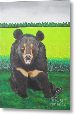 Moonbear Metal Print