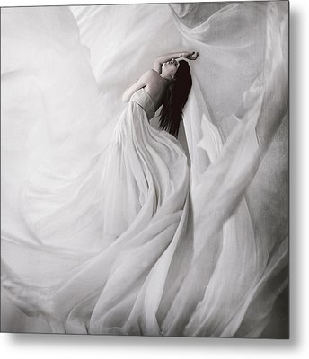 Moondance Metal Print by Anja Matko