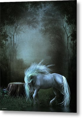 Moonlight Becomes Her Metal Print