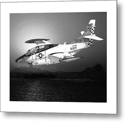 Moonlight Buckeye T 2c Training Mission Metal Print