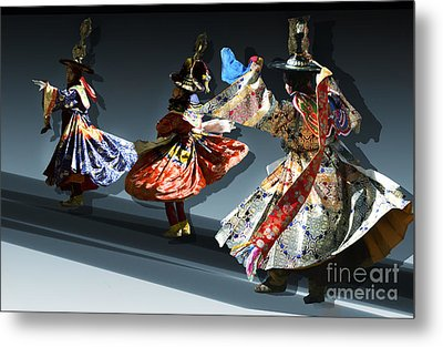 Metal Print featuring the digital art Moonlight Dance Graphics by Angelika Drake