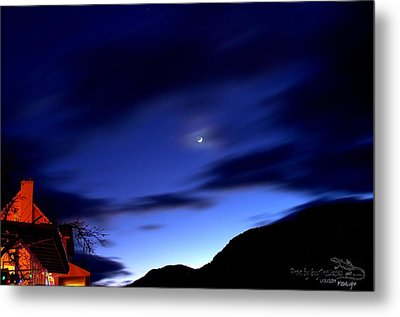 Metal Print featuring the photograph Moonlight by Guy Hoffman