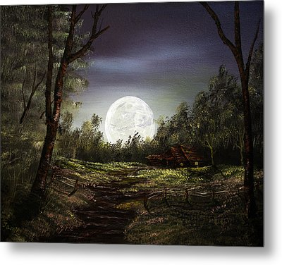 Moonlight  Metal Print by Jamil Alkhoury