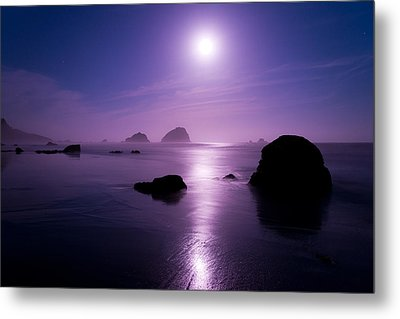 Moonlight Reflection Metal Print by Chad Dutson