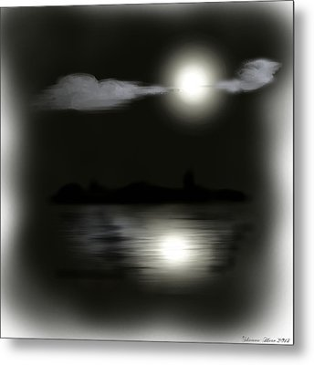 Moonlight Metal Print by Shanna Hare