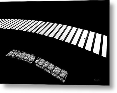 Moonlight Under The Highway Metal Print by Bob Orsillo