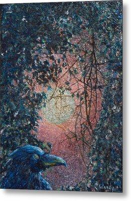 Moonrise Metal Print by Carla Woody