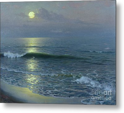 Moonrise Metal Print by Guillermo Gomez y Gil