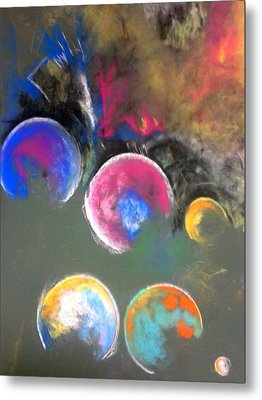 Moons Of Jupiter Metal Print by Thomas Petrizzo