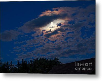 Moonscape Metal Print by Robert Bales