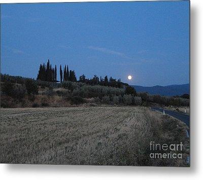 Moonshine In Arezzo Metal Print