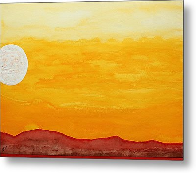 Moonshine Original Painting Sold Metal Print