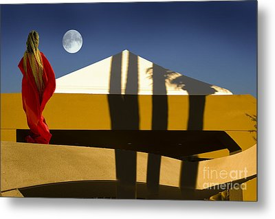 Moonstella Metal Print by Angelika Drake