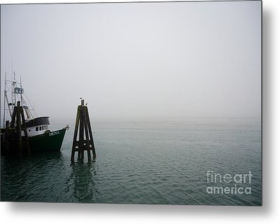 Moored Metal Print by CML Brown