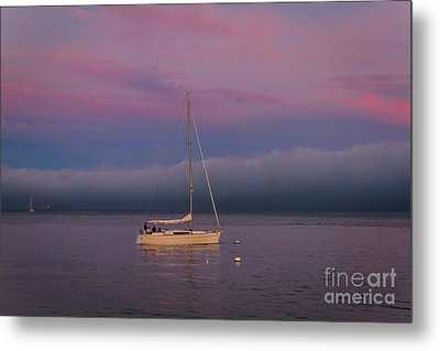 Moorings Metal Print by Mitch Shindelbower