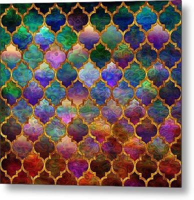 Moorish Mosaic Metal Print