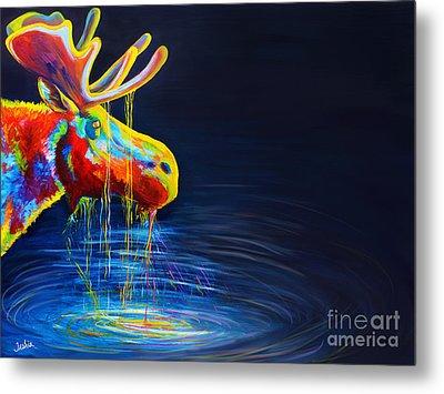 Moose Drool   Metal Print by Teshia Art