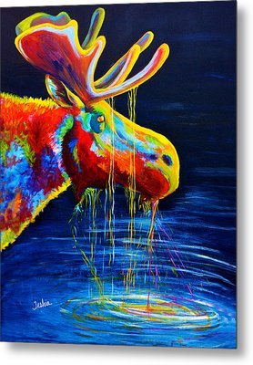 Moose Drool Metal Print