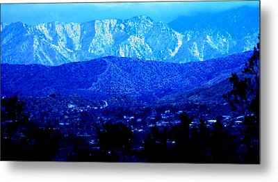 Morango Blues Metal Print