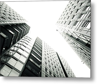 More Grids And Lines Metal Print by Lenny Carter