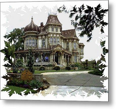 Morley Mansion Metal Print