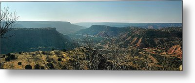 Metal Print featuring the photograph Morning At Palo Duro by Rod Seel
