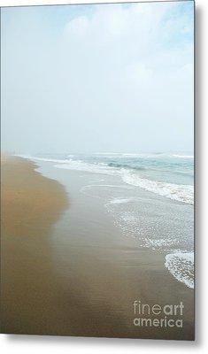 Morning At Sea Metal Print by Sharon Coty