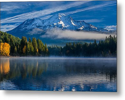 Morning At Siskiyou Lake Metal Print by Greg Nyquist