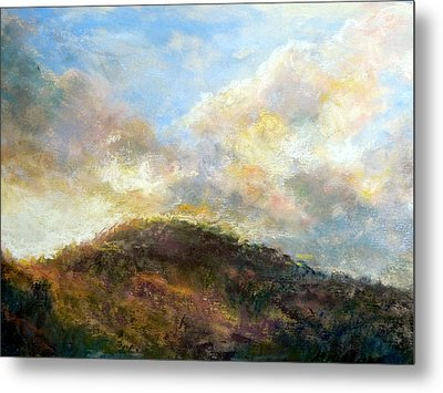 Morning At The Dune Metal Print by Margaret Billups