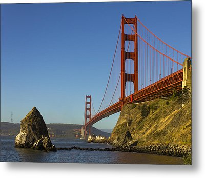 Morning At The Golden Gate Metal Print
