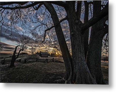 Morning At Valley Forge Metal Print by Jeff Oates Photography