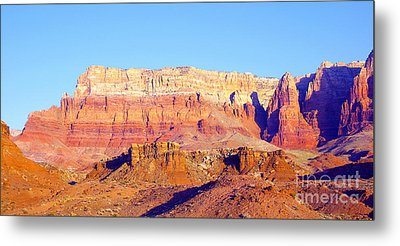 Morning At Vermillion Cliffs And Cathedral Canyon Metal Print by Douglas Taylor
