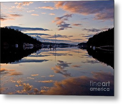 Morning Calm Metal Print