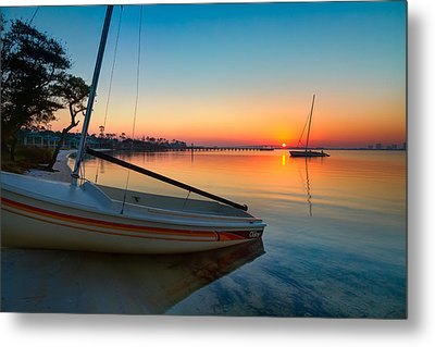 Morning Calm Metal Print by Tim Stanley