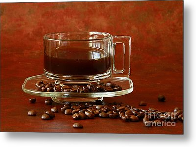 Morning Coffee Metal Print by Inspired Nature Photography Fine Art Photography