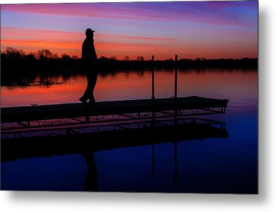 Metal Print featuring the photograph Morning Color Forest Lake Mn by RC Pics