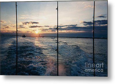 Metal Print featuring the photograph Morning Fishing by John Telfer